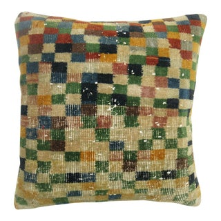 Turkish Deco Rug Pillow For Sale