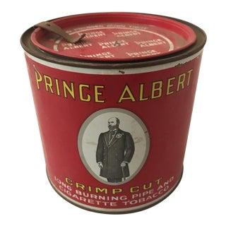 1940's Prince Albert Tobacco Tin For Sale