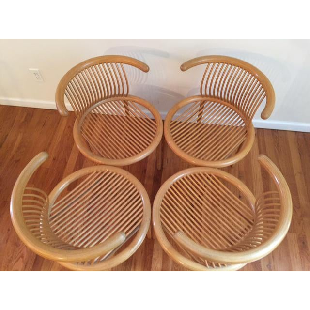 Helmut Lubke Mid-Century Sculptural Chairs - Set of 4 For Sale In New York - Image 6 of 12