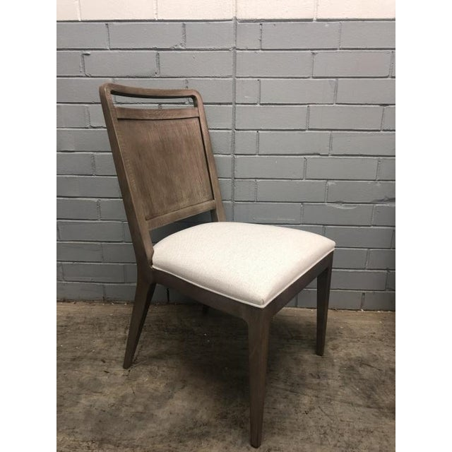 Transitional Century Furniture Dining Side Chair For Sale - Image 3 of 5