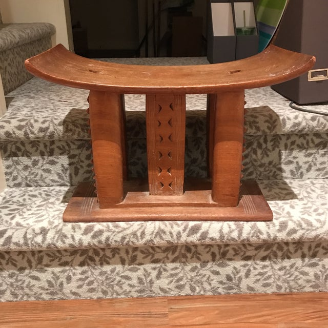 AFrican Wooden Bench - Image 2 of 4