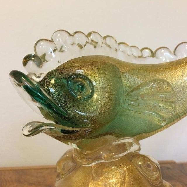 Figurative Murano Glass Fish For Sale - Image 3 of 7