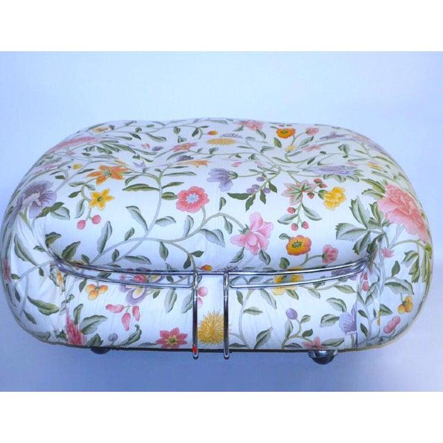 Tobia Scarpa for Cassina Floral Sorina Ottoman - Image 2 of 3