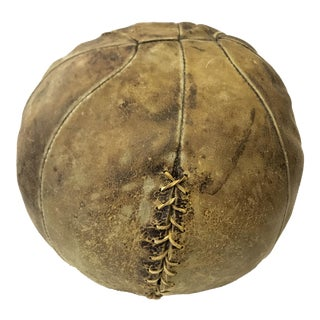 Rustic Distressed Medicine Ball