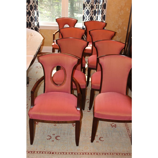 Barbara Barry Realized by Henredon Chairs - Set of 8 For Sale - Image 9 of 9
