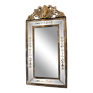 Fratelli Barbini - Etched Venetian Mirror For Sale