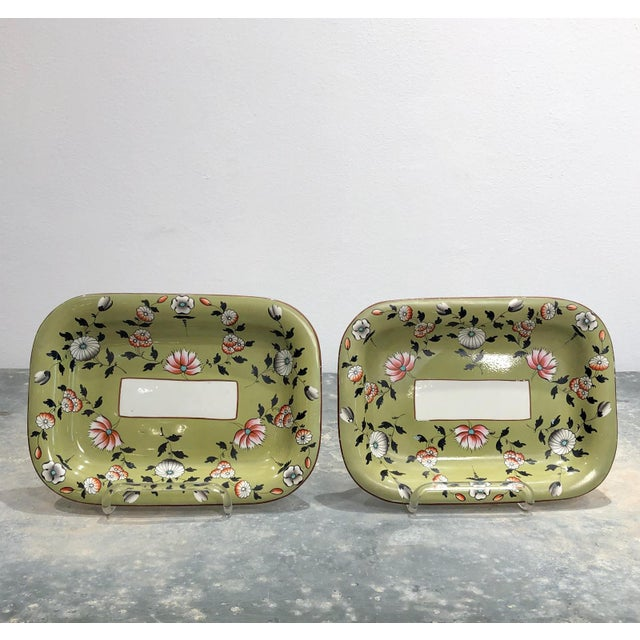 Part Spode Dessert Set, England 19th Century - 18 Pc. Set For Sale - Image 9 of 11