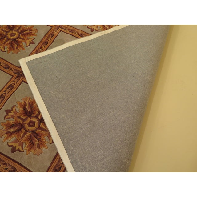 Regency Wool Rug - 9' X 13' For Sale - Image 9 of 13