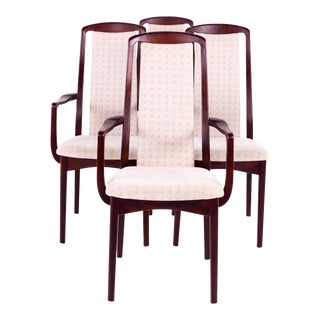 Mid Century Breox Mobler Snickerinytt Rosewood Dining Chairs - Set of 4 For Sale