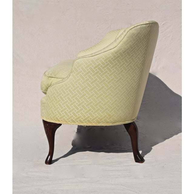 Curved Camel Back Demi Settee For Sale - Image 11 of 14