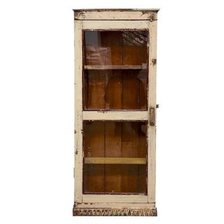 Vintage Colonial Display Cabinet
