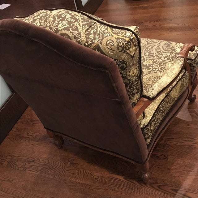 Ethan Allen Harris Chair For Sale - Image 5 of 5