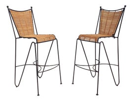 Image of Rattan Bar Stools
