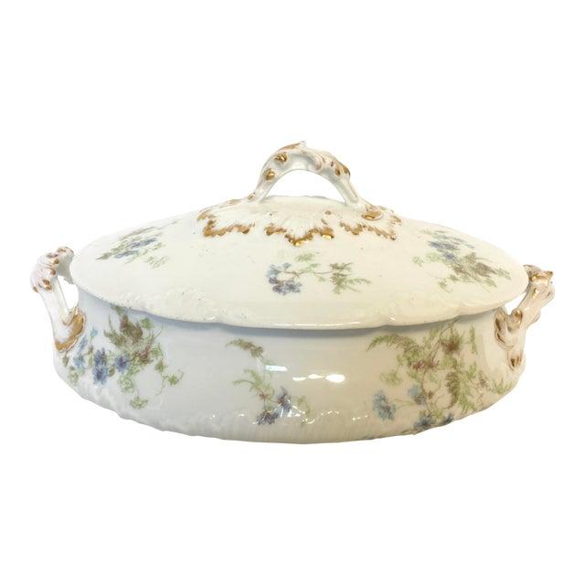 Antique Haviland Limoges Covered Serving Dish - Image 1 of 5