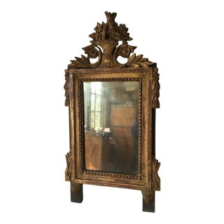 Early 19th Century Gilt Gold Mirror & Frame For Sale
