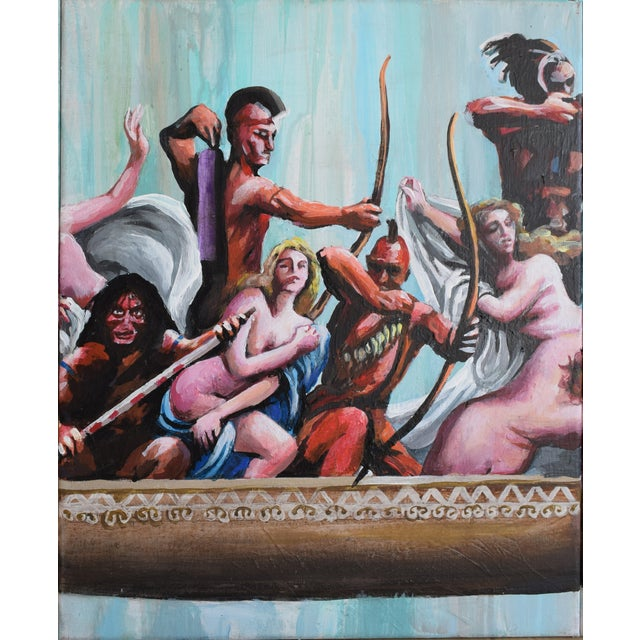 Oil Study for Myth of the Nubile Captives (Aka: Hey, That's Not Art!) - Image 7 of 8