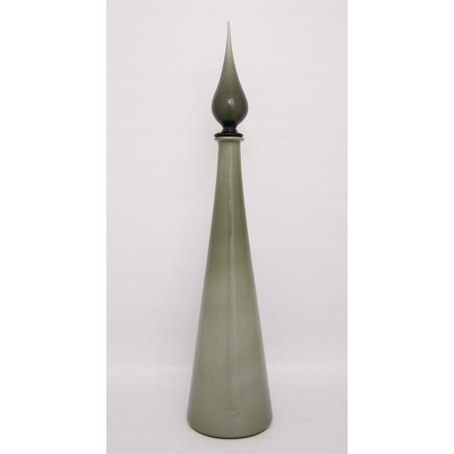 Italian Murano Glass Gray Cased Decanter - Image 10 of 10