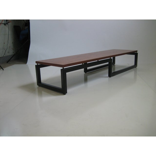 Baker Mid-Century Coffee Table For Sale In San Francisco - Image 6 of 7