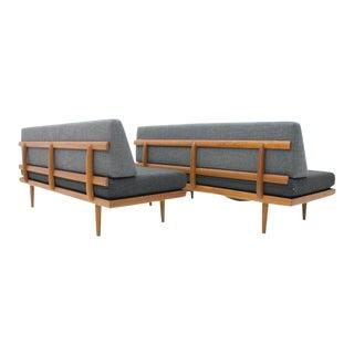 Tove & Edvard Kindt-Larsen Sofa Daybed Bench by Gustav Bahus Norway, 1960s For Sale