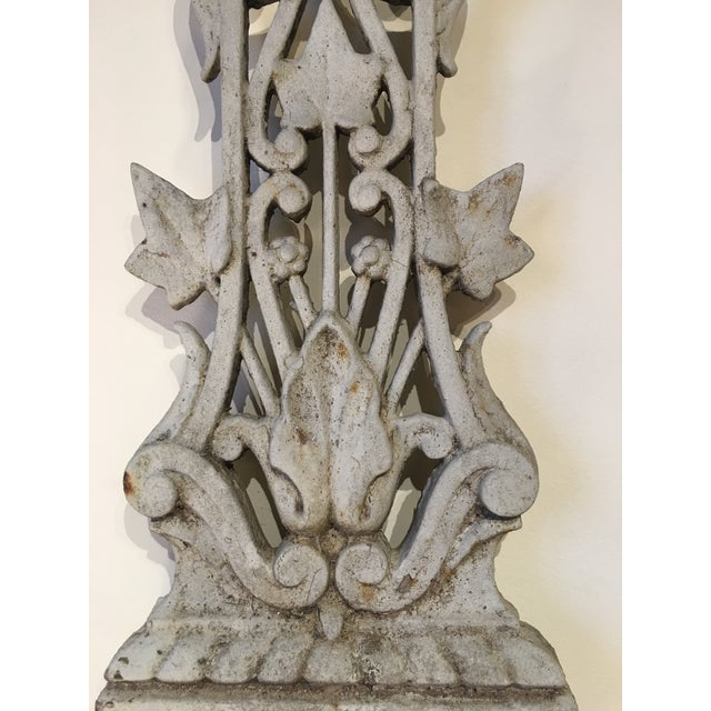 French Country Antique French Vineyard Cross For Sale - Image 3 of 6