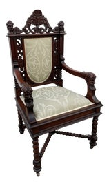 Image of Jacobean Accent Chairs
