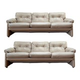 Image of Coronado Sofas by Tobia Scarpa for B&b Italia - a Pair For Sale