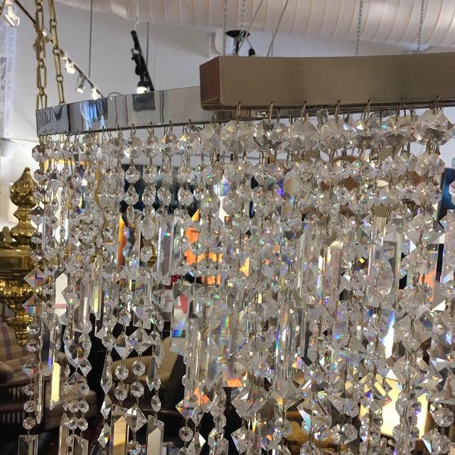 Italamp Italian Swarovski Crystal Chandelier - Image 4 of 9