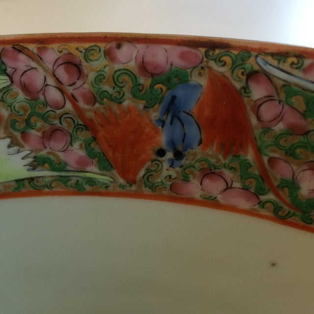 Chinese Export Famille Rose Bowl For Sale - Image 4 of 7