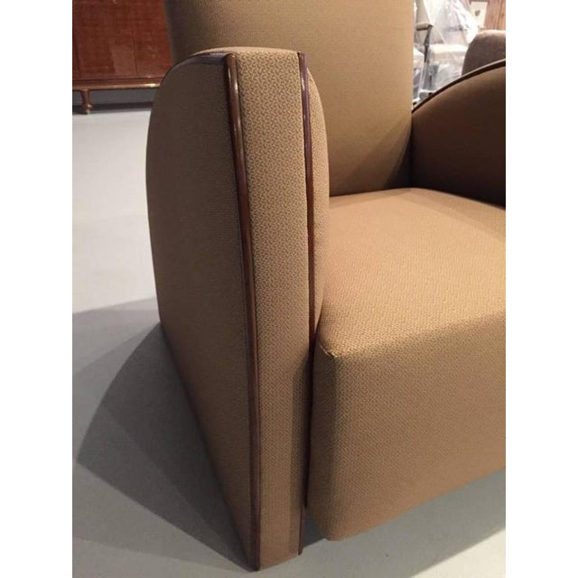French Art Deco Club Chairs - A Pair - Image 3 of 9