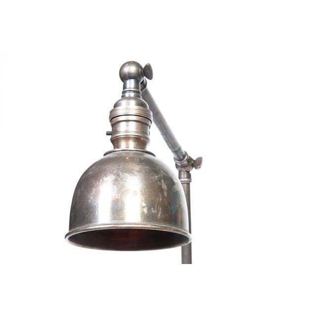Industrial Industrial Metal Desk Lamp For Sale - Image 3 of 4