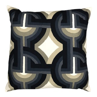 Contemporary Blue Pillow For Sale