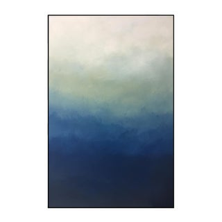 """Blue Ombre"" - Framed Giclee Print 32"" x 48"""