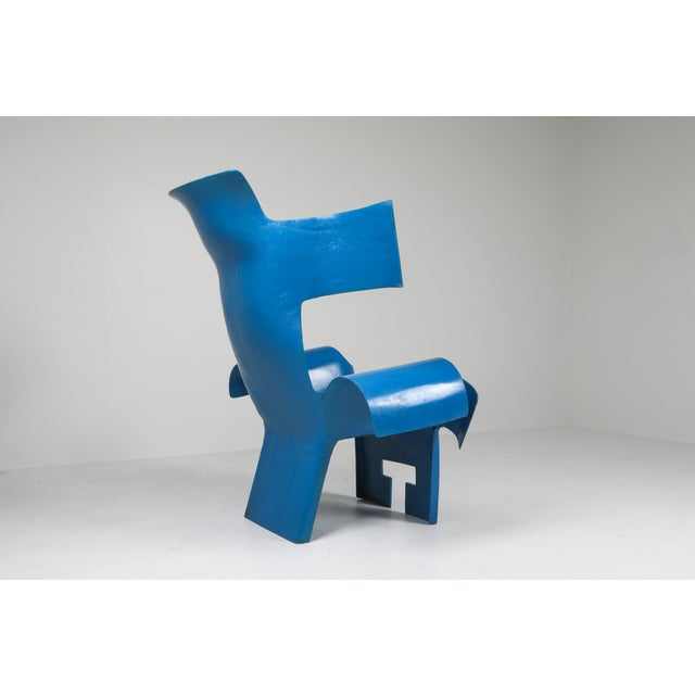 1980s Functional Art Chair in the Style of Gaetano Pesce - 1980s For Sale - Image 5 of 11