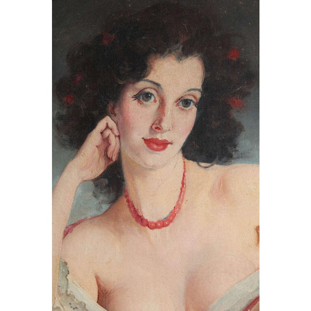 """Maria Szantho """"Woman With Tambourine"""", 1930s For Sale In New York - Image 6 of 8"""