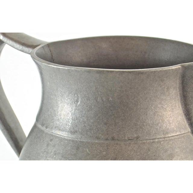 Vintage Pewter Tavern Pitcher For Sale In Chicago - Image 6 of 9