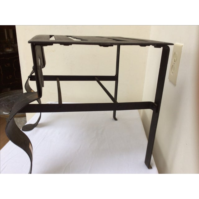 Antique Kettle Stand For Sale In San Antonio - Image 6 of 8