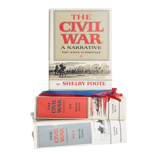 Mid 20th Century The Civil War Gift Set - Set of 3 For Sale