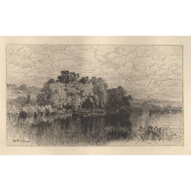 A.F. Bellows (1829-1883) Etching - Image 1 of 3