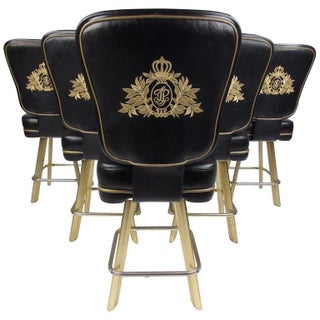 Set of Six Modern Swivel Stools for Trump Plaza Preview