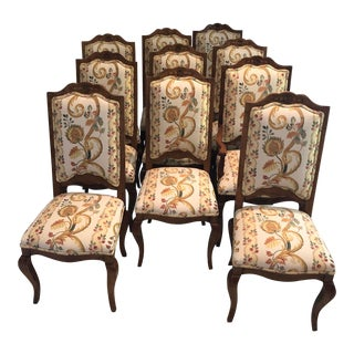 Guy Chaddock & Co.Ladderback Dining Chairs - Set of 10 For Sale