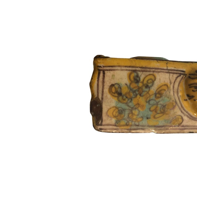 Traditional 18th Century Italian Faience Inkwell For Sale - Image 3 of 7