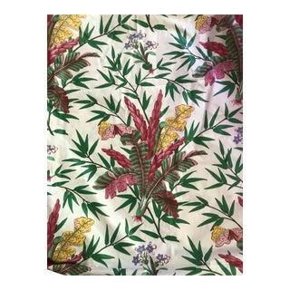 Scalamandre Cotton Chintz Palmes Exotiques Fabric - 5 Yards