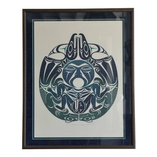 Framed First Nations Print by Susan A. Point For Sale