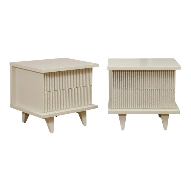 Stunning End Tables or Night Stands by American of Martinsville For Sale