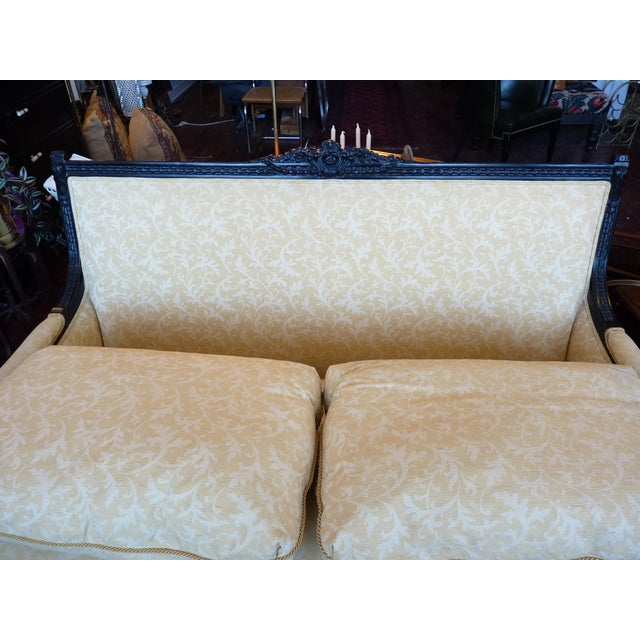 Yellow Henredon for Beacon Hill Settee - 2 Available For Sale - Image 8 of 10