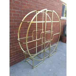 1960's Mid Century Hollywood Regency Glass Etagere Preview