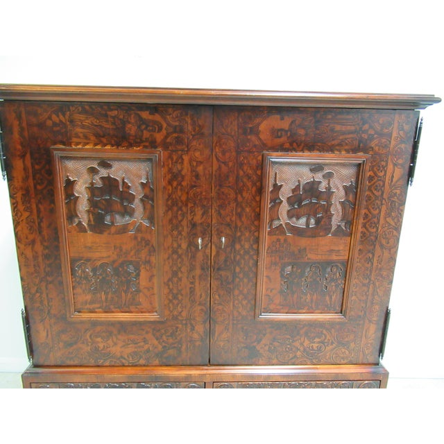 Hickory White Hickory Chair Thomas O'Brien Collection Armoire For Sale - Image 4 of 13