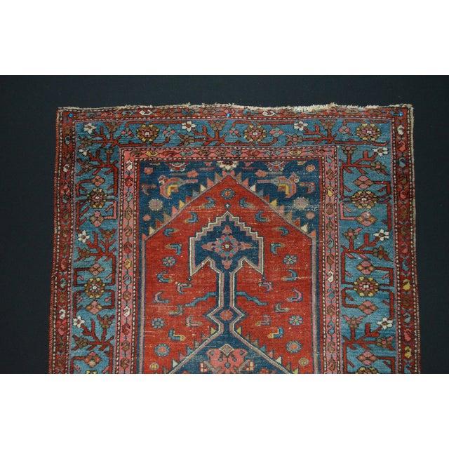 "Vintage Persian Rug - 3'7"" x 6'1"" - Image 3 of 5"