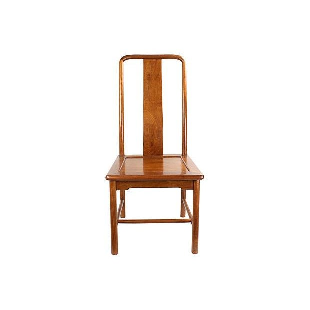 Modern Ming-Style Huali Chairs - A Pair - Image 2 of 5
