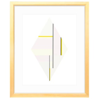Diamond 3 (1979) Gold Framed Print